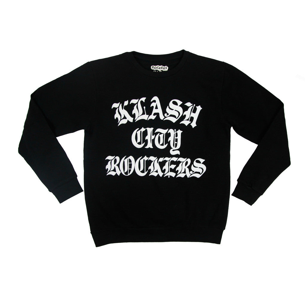 KLASH CITY ROCKERS SWEATSHIRT - BLACK