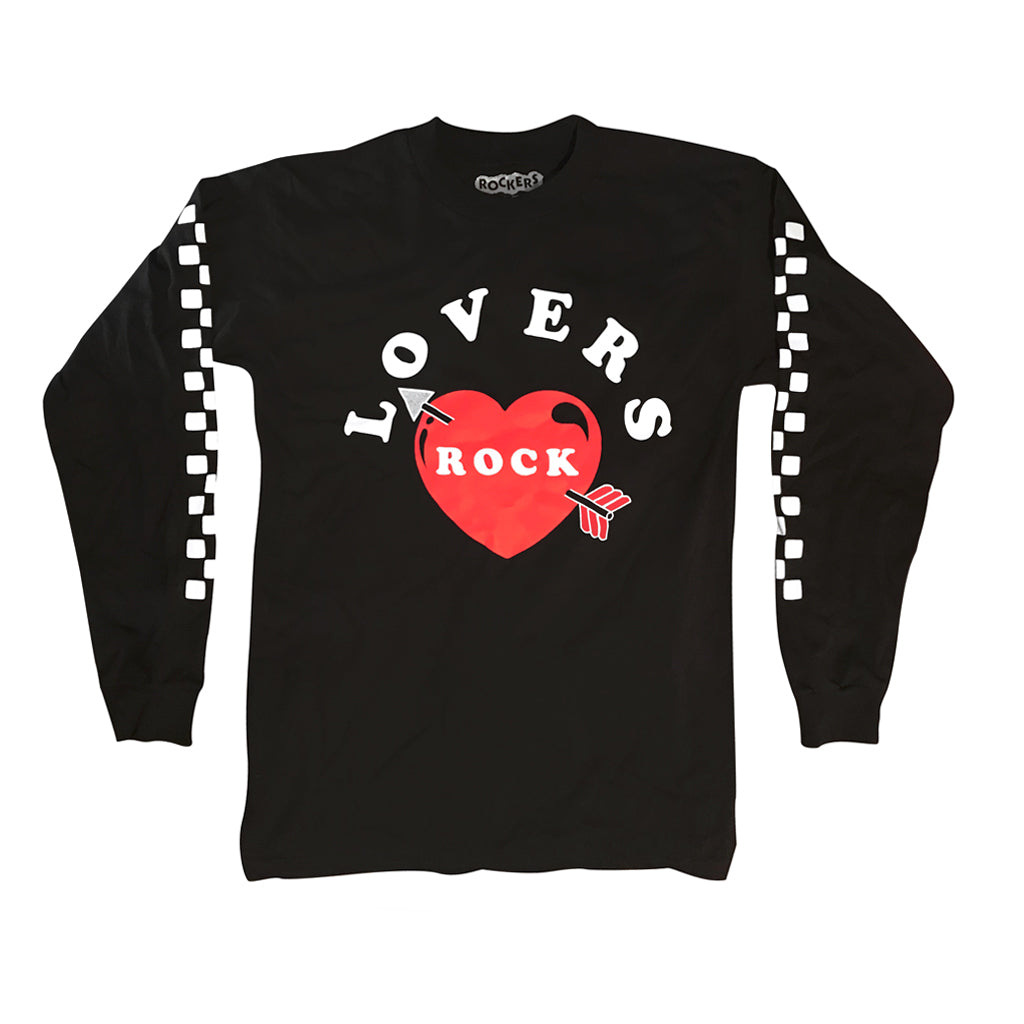 LOVERS ROCK LONG SLEEVE - BLACK