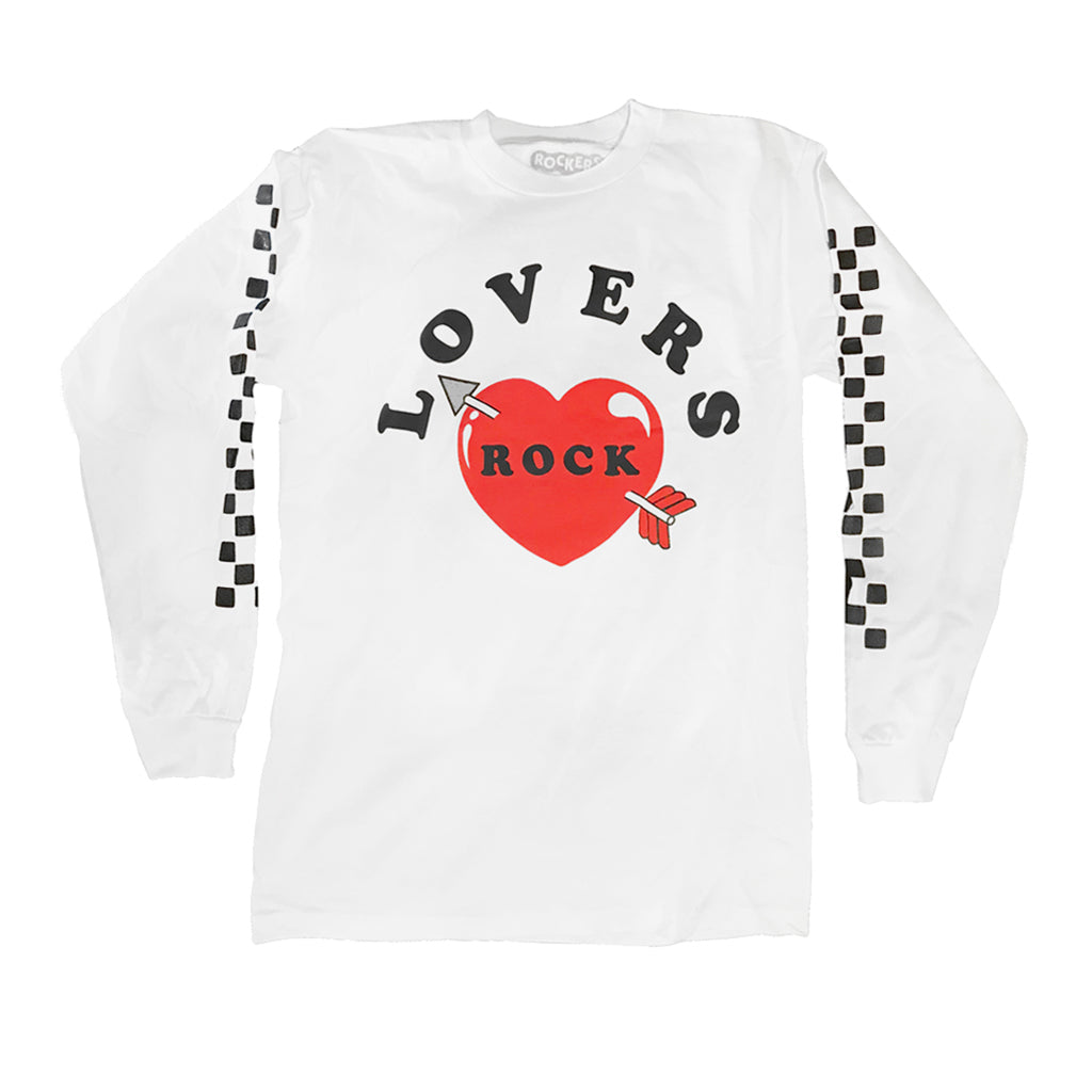 LOVERS ROCK LONG SLEEVE - WHITE