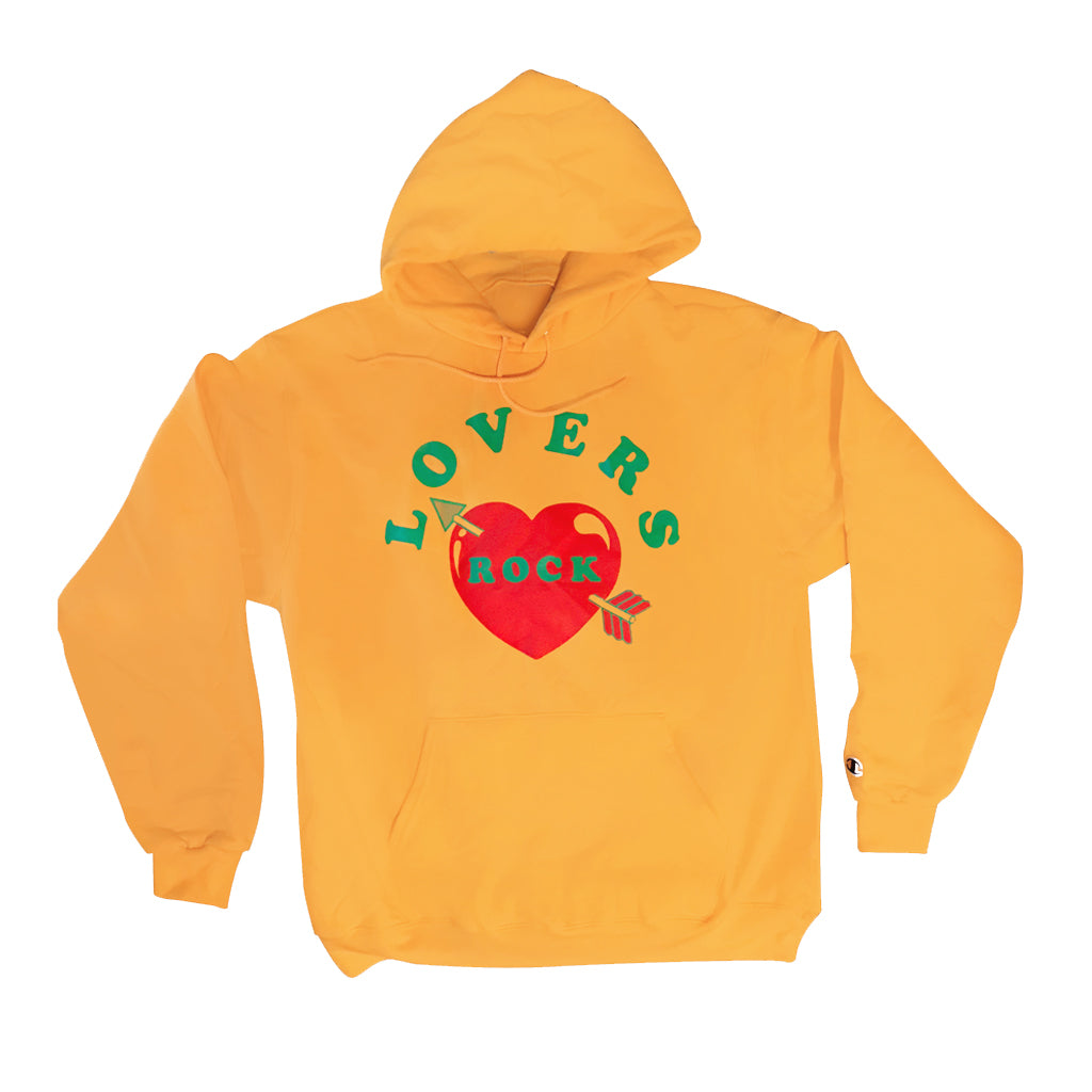 LOVERS ROCK HOODIE - YELLOW