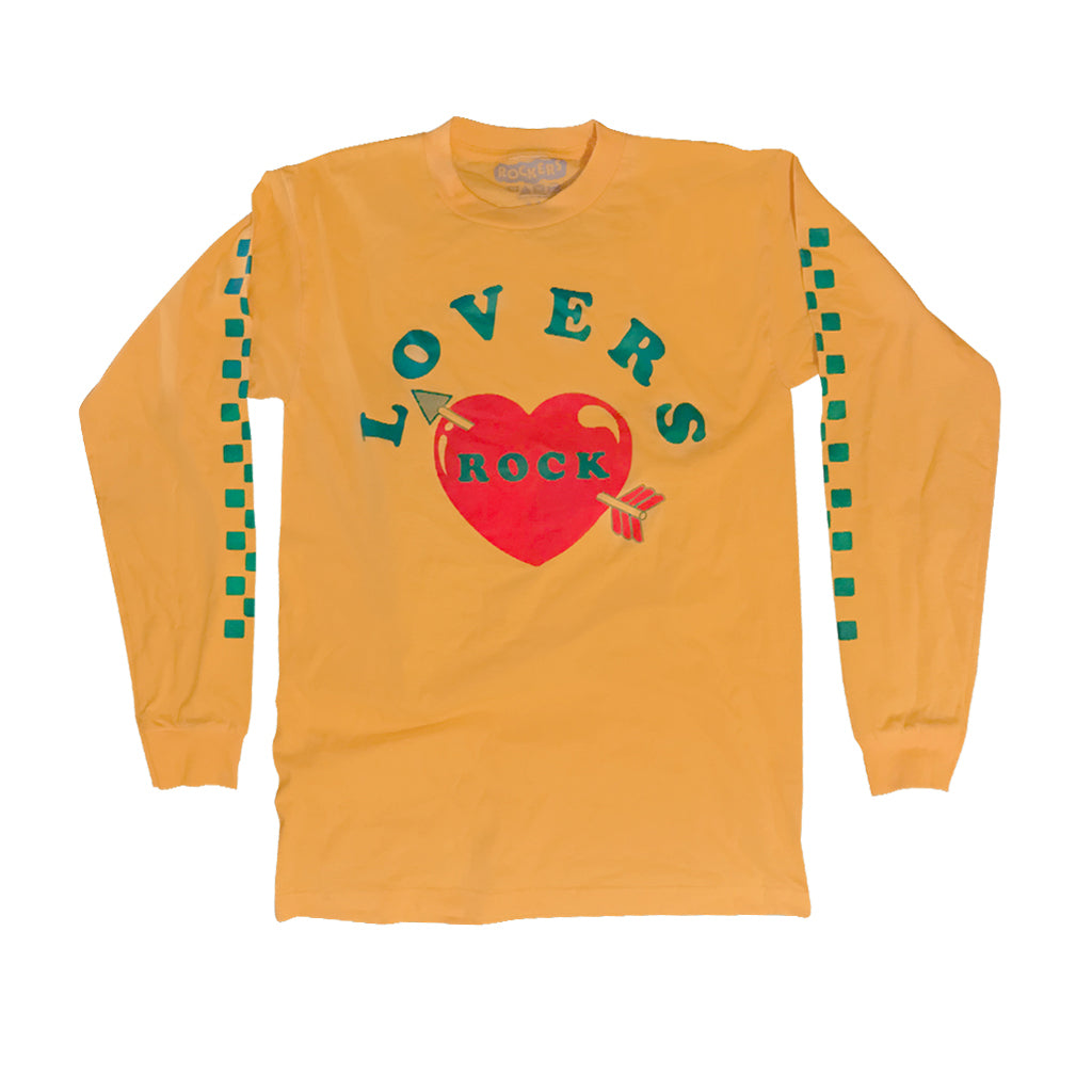 LOVERS ROCK LONG SLEEVE - YELLOW