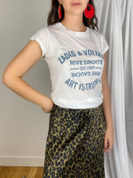 "Camiseta con logo ""Art is Truth"""