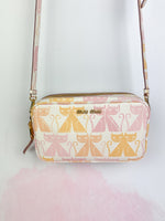 "Bolso ""Madras Cat"" en colores pastel"