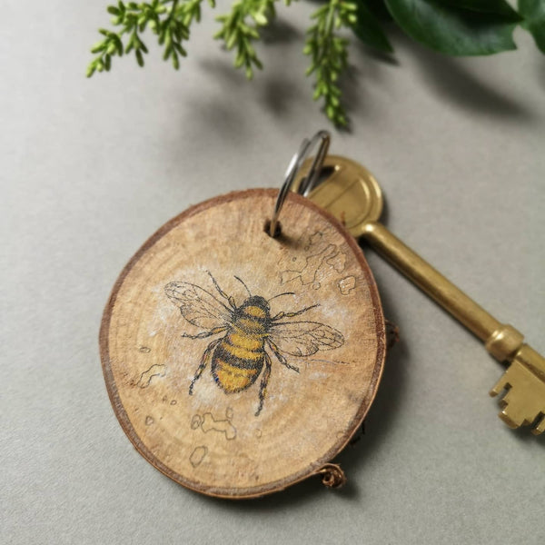 Bark Bee Keyrings