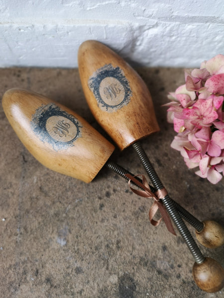 Vintage Wooden Shoe Trees