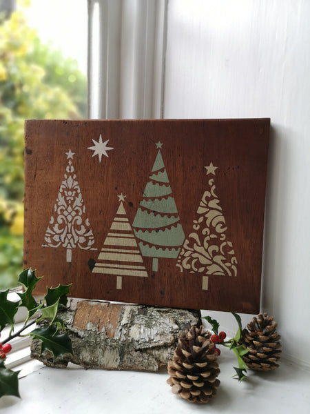 Christmas Trees Plaque