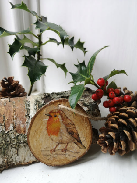 Christmas Robin Decoration