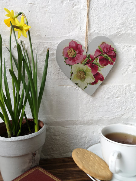 Best Mum hanging heart