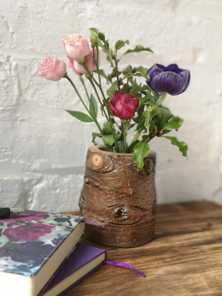Bark Posy holder