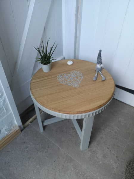 Low Round Side Table