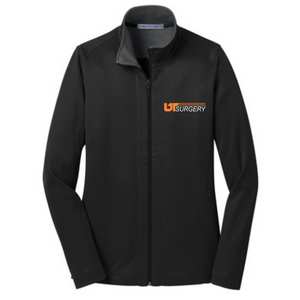 L805 - Port Authority® Ladies Vertical Texture Full-Zip Jacket