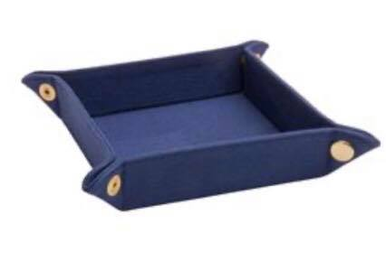 Navy Valet Tray