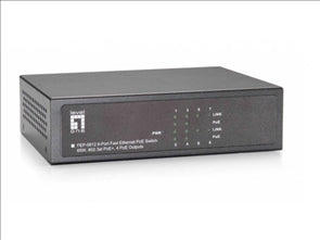 8-Port 10/100Mbps PoE Switch 4 802.3at/af PoE Ports 61.6W total PoE