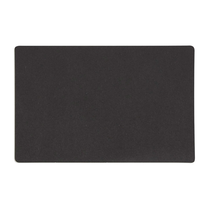 Pack of 100 Blank Flash Cards for Study or DIY Use - Plain Index Cards - Perfect for Language Learning - 110gsm, Black, 3.3 x 5.1 Inches