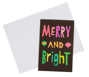 36-Pack Merry Christmas Greeting Cards Bulk Box Set - Winter Holiday Xmas Greeting Cards with Colorful Festive Light Designs, Envelopes Included, 4 x 6 Inches