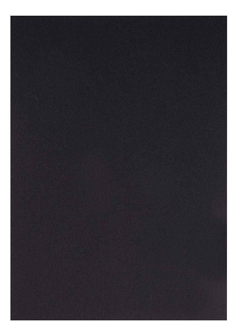 Black Cardstock - 150-Pack 5x7 Heavyweight Smooth Cardstock, 80lb 216GSM Cover Card Stock, Unruled Thick Stationery Paper, For Postcard, Invitation, Announcement, Marketing Material, 5 x 7 Inches