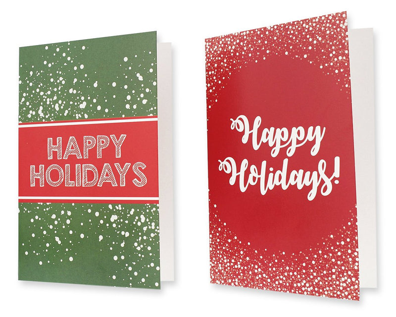 36-Pack Merry Christmas Greeting Cards Bulk Box Set - Winter Holiday Xmas Greeting Cards with Colorful Festive Designs, Envelopes Included, 4 x 6 Inches