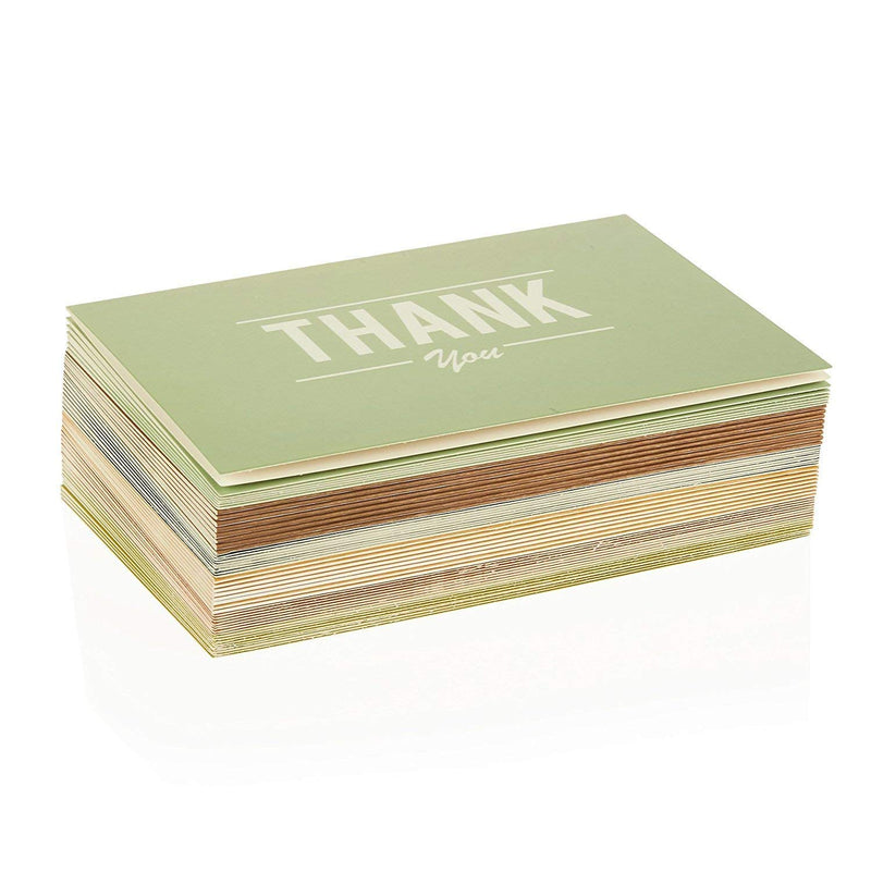 Pipilo Press Thank You Cards with Envelopes (Set of 36, 4 x 6 Inches)