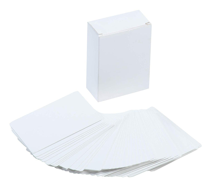 Blank Index Card - 216-Piece White Cardstock, Flash Cards, Note Cards, Perfect for DIY Game Card, Study, School, Language Learning, Memory Game, 420 GSM, 2.5 x 3.5 Inches