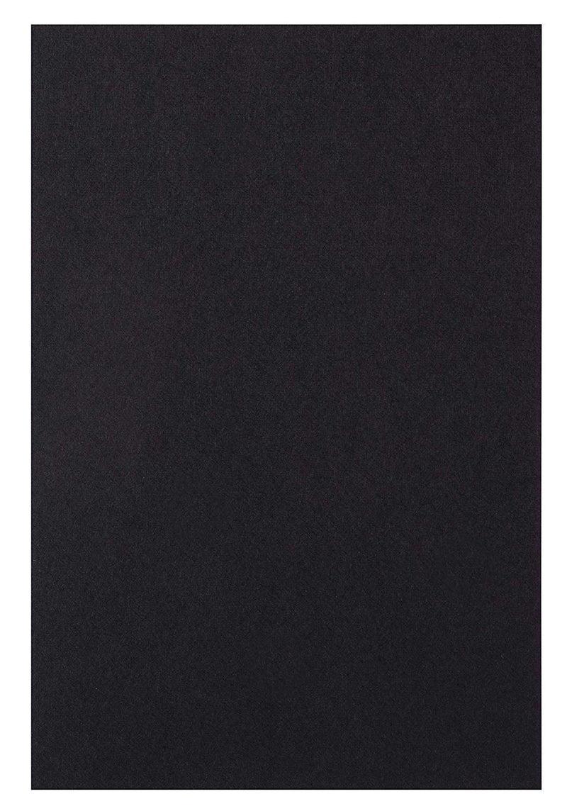 Black Cardstock - 200-Pack 4x6 Heavyweight Smooth Cardstock, 80lb 216GSM Cover Card Stock, Unruled Thick Stationery Paper, For Postcard, Invitation, Announcement, Marketing Material, 4 x 6 Inches