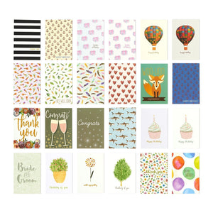 144 Pack Assorted All Occasion Greeting Cards - Includes Birthday, Wedding, Thank You Note Cards Assortment - Bulk Box Set Variety Pack with Envelopes Included - 48 Different Designs - 4 x 6 Inches