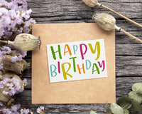 120-Pack Happy Birthday Cards - Includes 12 Colorful Designs with Party Hats, Balloons, Candles, Birthday Cake, 10 of Each, Bulk Box Set Variety Pack with Envelopes Included, 4 x 6 Inches