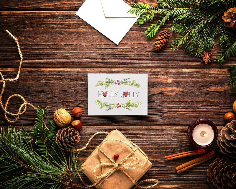 36-Pack Merry Christmas Holiday Greeting Cards Bulk Box Set - Assorted Winter Holiday Xmas Greeting Cards in 36 Special Designs, Envelopes Included, 4 x 6 Inches