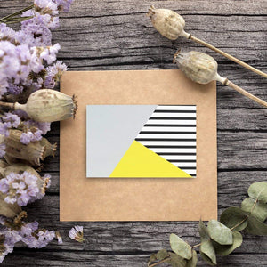 48 Pack All Occasion Assorted Blank Note Cards Greeting Cards Bulk Box Set - 6 Colorful Modern - Blank on the Inside Notecards with Envelopes Included - 4 x 6 Inches