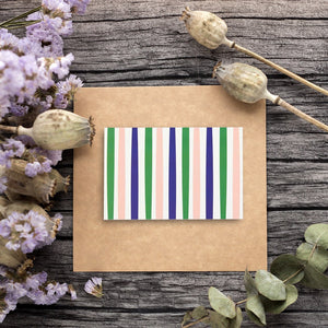 36 Pack All Occasion Assorted Blank Note Cards Greeting Cards Bulk Box Set - 6 Colorful Polka Dot and Stripe Designs - Blank on the Inside Notecards with Envelopes Included - 4 x 6 Inches