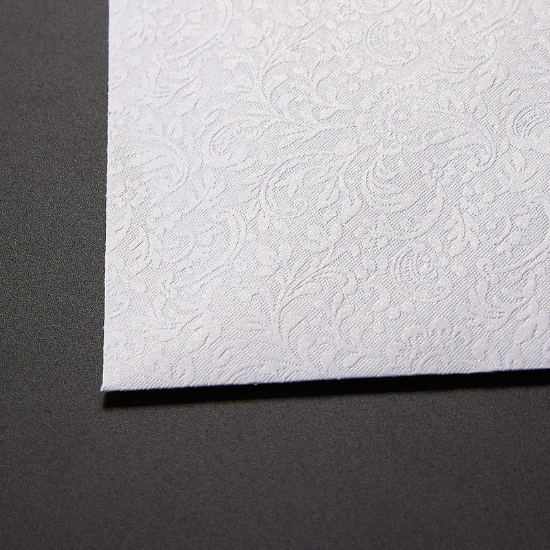 Small Envelopes - 100-Count Bulk Mini Envelopes for Gift and Business Cards, Floral Pattern, Tiny Envelope Pockets for Small Note Cards, White 4 x 2.7 Inches