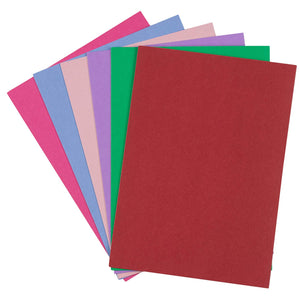 36-Pack Blank Greeting Cards - Plain Cards and Matching Color Envelopes for DIY Holiday Cards, Thank You Cards, Party Invitation, Birthday, Wedding, 6 Colors, 5 x 7 Inches