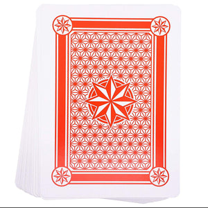 Super Big Giant Jumbo Playing Cards - Full Deck Huge Standard Print Novelty Poker Index Playing Cards, 8 x 11 Inches