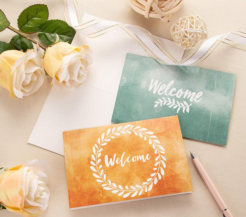 Blank Note Cards – 48 Pack Welcome Greeting Cards Bulk Box Set, 6 Floral Designs, All Occasion Cards, Notecards with Envelopes Included, 4 x 6 Inches