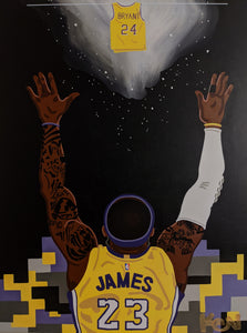 """Mamba Out"" 8.5 x 11in. Print"