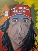"Load image into Gallery viewer, ""American Robbery"" 30 x 40in. Original Painting"