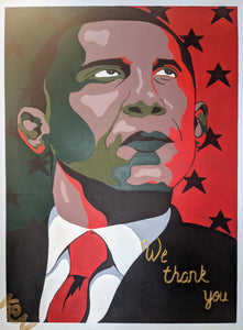 """Our Forever POTUS"" 8.5 x 11in. Print"