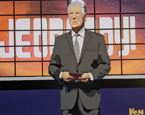 """The Trebek Tribute"" 8.5 x 11in. Print"