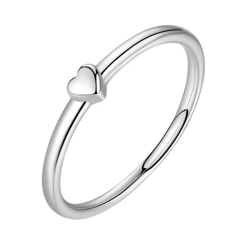 Bague Coeur Simple | Reine de Coeur