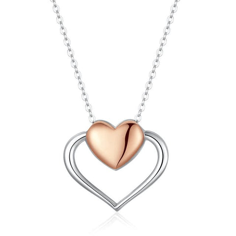 Collier Coeur Glamour