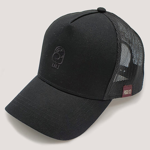 Gorra by Pugil negra con logo the art of boxing