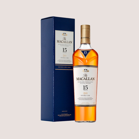 Botella de whisky Macallan de 15 años de 700ml