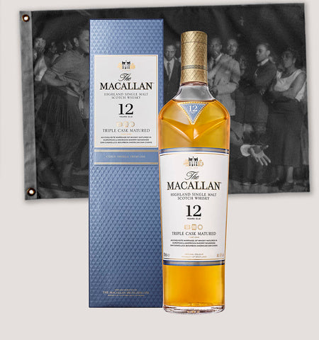 Botella de whisky Macallan Triple Cask 12 años de 700ml