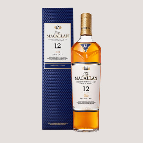 Botella de whisky Macallan de 12 años de 700ml