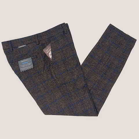 Brown Baronio Trousers