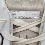 Philippe Model Low Basic Blanc