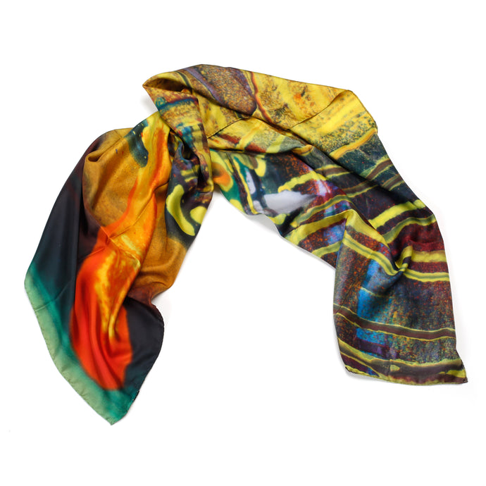 IT WASN´T US I KATHARINA GROSSE I SILK SCARF