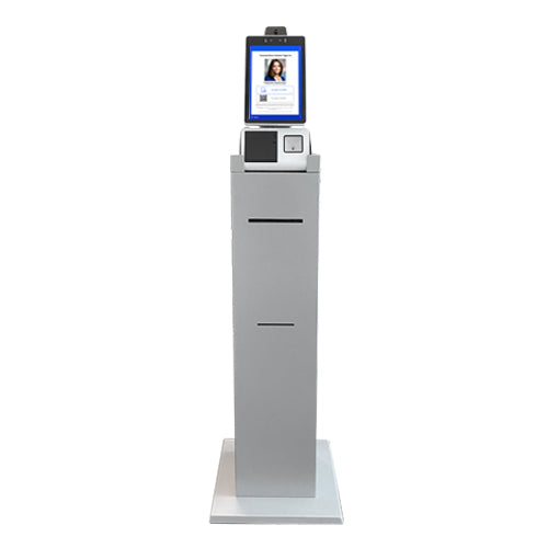 Sign-In Kiosk with COVID-19 Screening, Temperature Scan & Facial Recognition