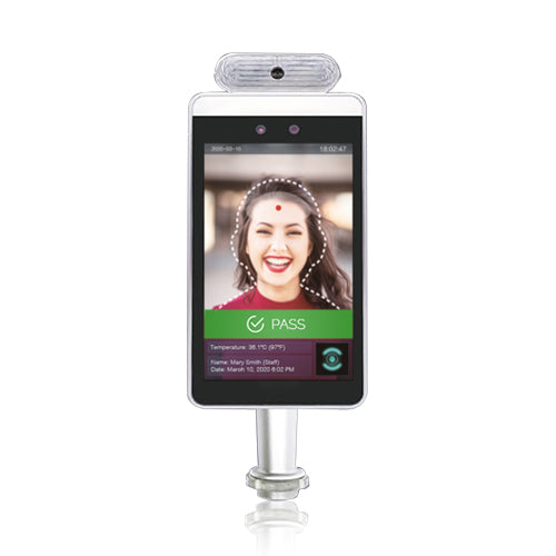 Face Recognition & Temperature Scanner