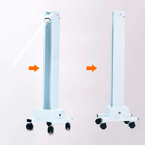 UV Disinfectant Trolley (300W) - Kills 99% of Germs, Bacteria & Viruses