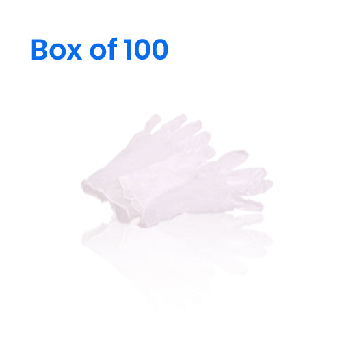 Disposable Vinyl Gloves (Box of 100)